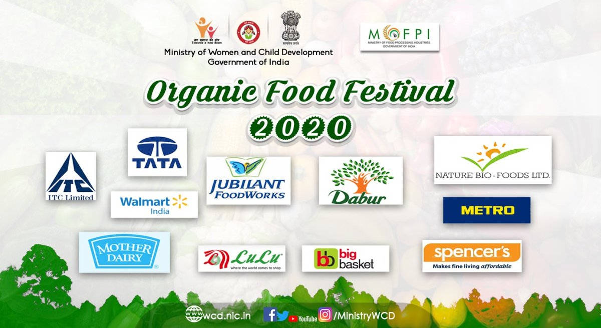 #OrganicFoodFestival2020 during the B2B meetings  facilitated discussions between women entrepreneurs and  @ITCCorpCom, @metro_india, @luluhypr, @bigbasket_com, @Walmart, @TataConsumer, @MotherDairyMilk, Jubilant Group, @DaburIndia, Nature Bio Foods (LT Group) & @Spencers_Retail