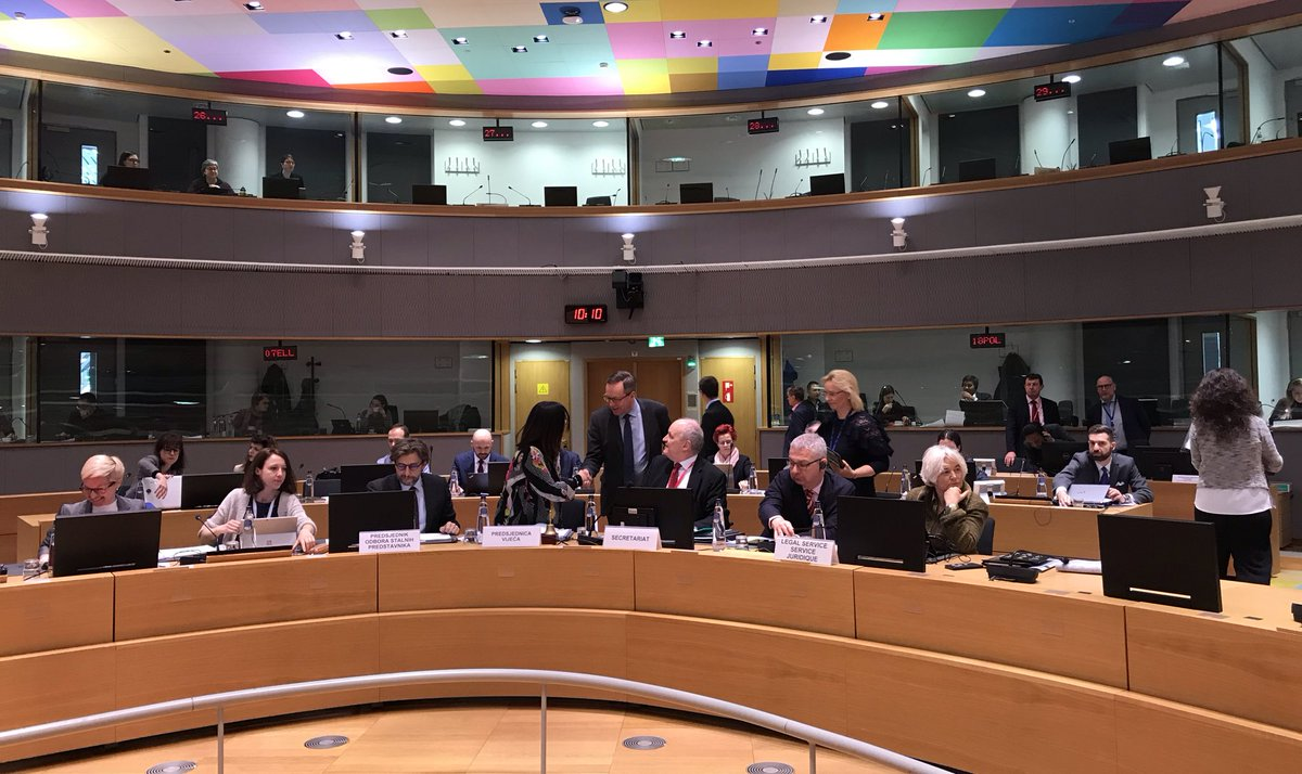 """""""The 🇪🇺 needs a systemic policy approach to attract talents to Europe. Investments at both national and regional level play a crucial role"""", stated Minister of Economic Affairs @MikaLintila on the second day of the Competitiveness Council. #COMPET"""