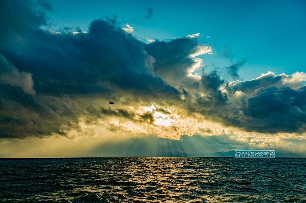 од ВчеРа #lakeohrid #sunset #stojanstojanovski #photo #photography