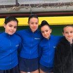 Image for the Tweet beginning: Nuestras chicas 💫 en el