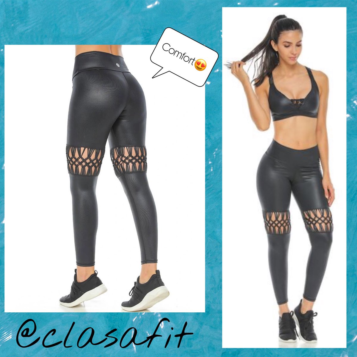 Spectacular sports leggings for women in a deep black shade that shines as much as you do. Slim your body without losing comfort.      By  @saavedraclaudia #fitmom #fitnessmodel #fitnessaddict #fitnesslifestyle #girlswholift #bodybuilding #shredded #flex  #instafit #trainpic.twitter.com/b9NnZgO2YD