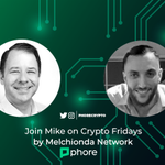 Image for the Tweet beginning: 🎙️Join Phore CEO Mike on