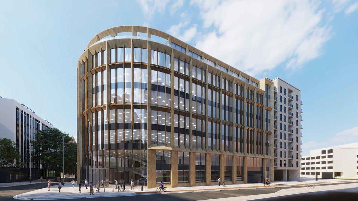 Former AFA HQ site, Bristol - new architectural development      #3dsmax #3drendering #vray #architecture #visualization