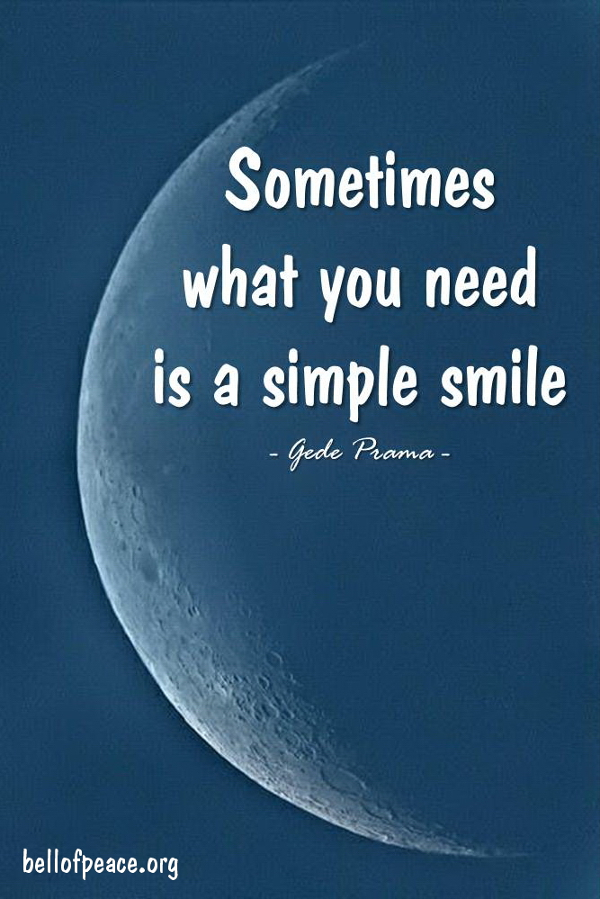 Sometimes... #gedeprama #bali #beauty #happy #healthy #holy #innerharmony #JoyTrain   Photo courtesy: Pinterest