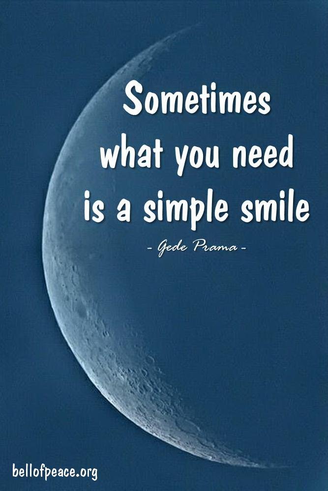Sometimes... #gedeprama #bali #beauty #happy #healthy #holy #innerharmony #JoyTrain   Photo courtesy: Pinterest