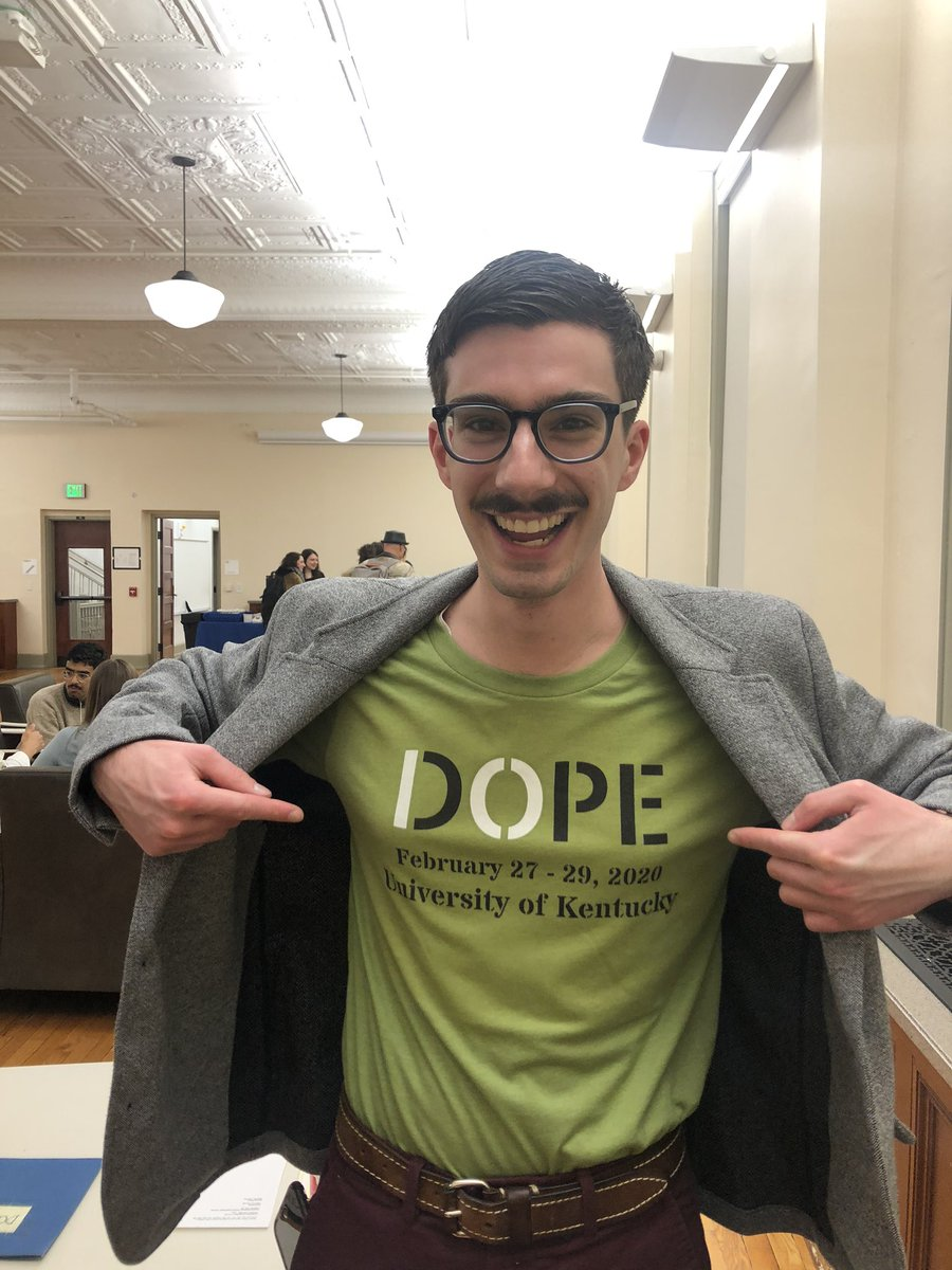 Have a question?!? Ask an Organizer! We are all wearing these #DOPE10 shirts: