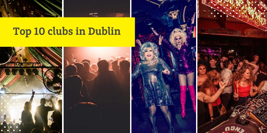 Dublin is famous for its huge variety of #nightsout, from pop and indie, to techno and everything in between 🎤  Find out the top 10 clubs to try on your next night out 👉https://t.co/d8rWOjYwL0  #Dublin #Studentlife https://t.co/YxHVKKgLg4