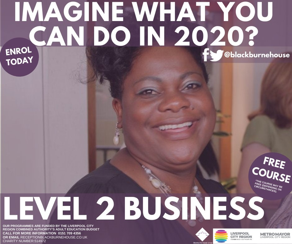 The Level 2 Business will develop and recognise your skills, knowledge and understanding of business functions, environments and operations in a practical way that is relevant to the working environment. Contact us: 01517094356 / debbiewatson@blackburnehouse.co.uk
