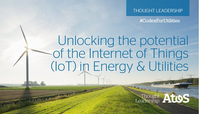 By connecting physical assets to the digital world, #Energy & #Utililties organizations...