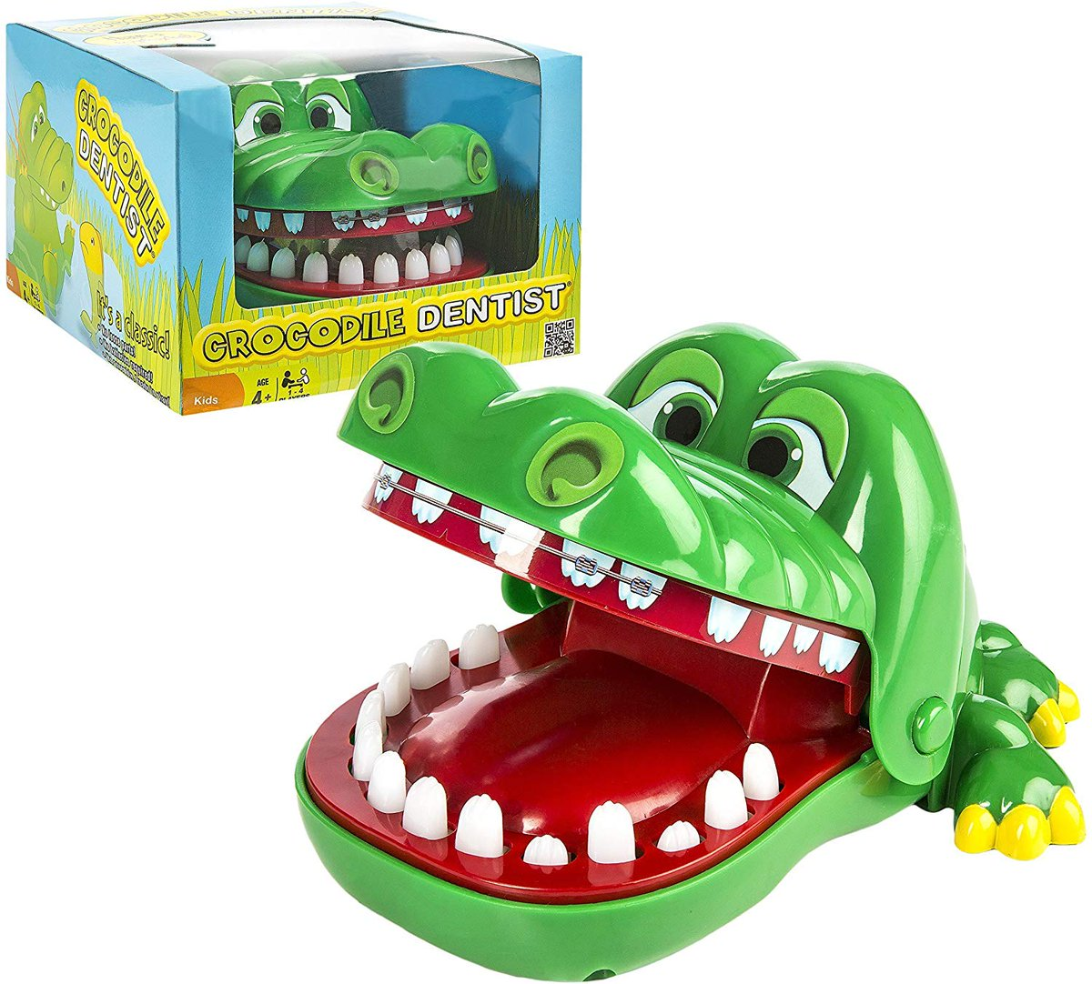 me: *wakes up* my brain: now would be a good time to repeatedly play the commercial jingle for Crocodile Dentist, a board game that you have never owned or played<br>http://pic.twitter.com/ZR9JVDYjYp