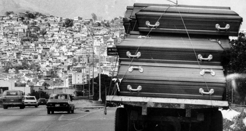 "31 Years Later, ""El Caracazo"" is Still Present in the Memory ofVenezuelans https://orinocotribune.com/31-years-later-el-caracazo-is-still-present-in-the-memory-of-venezuelans/…pic.twitter.com/YNSLRTqc0D"