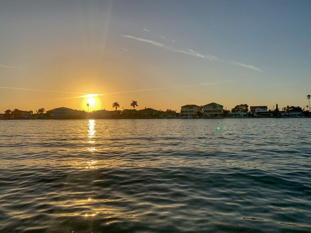 Sunset over Madeira Beach in Flrodia   #travel #tourism #ttot #travelphoto #travelphotography #madeira #florida #myflorida #visitflorida #tourismflorida #floridatourism
