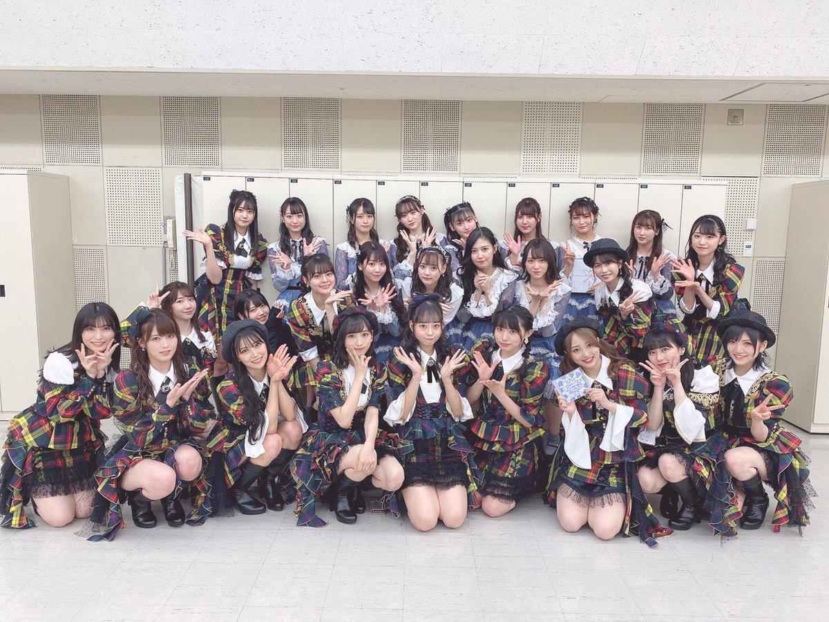 NHK特番「RAGAZZE!」収録してきました✨普段、ラジオで一緒のみりにゃとこうやって他のお仕事で一緒になれるのってすごく嬉しい🥰大天使なーたんちゃんとも写真撮っていただきました💘ありがとうございます!アイドルってやっぱり最高でした😻#RAGAZZE #AKB48 #イコラブ さん