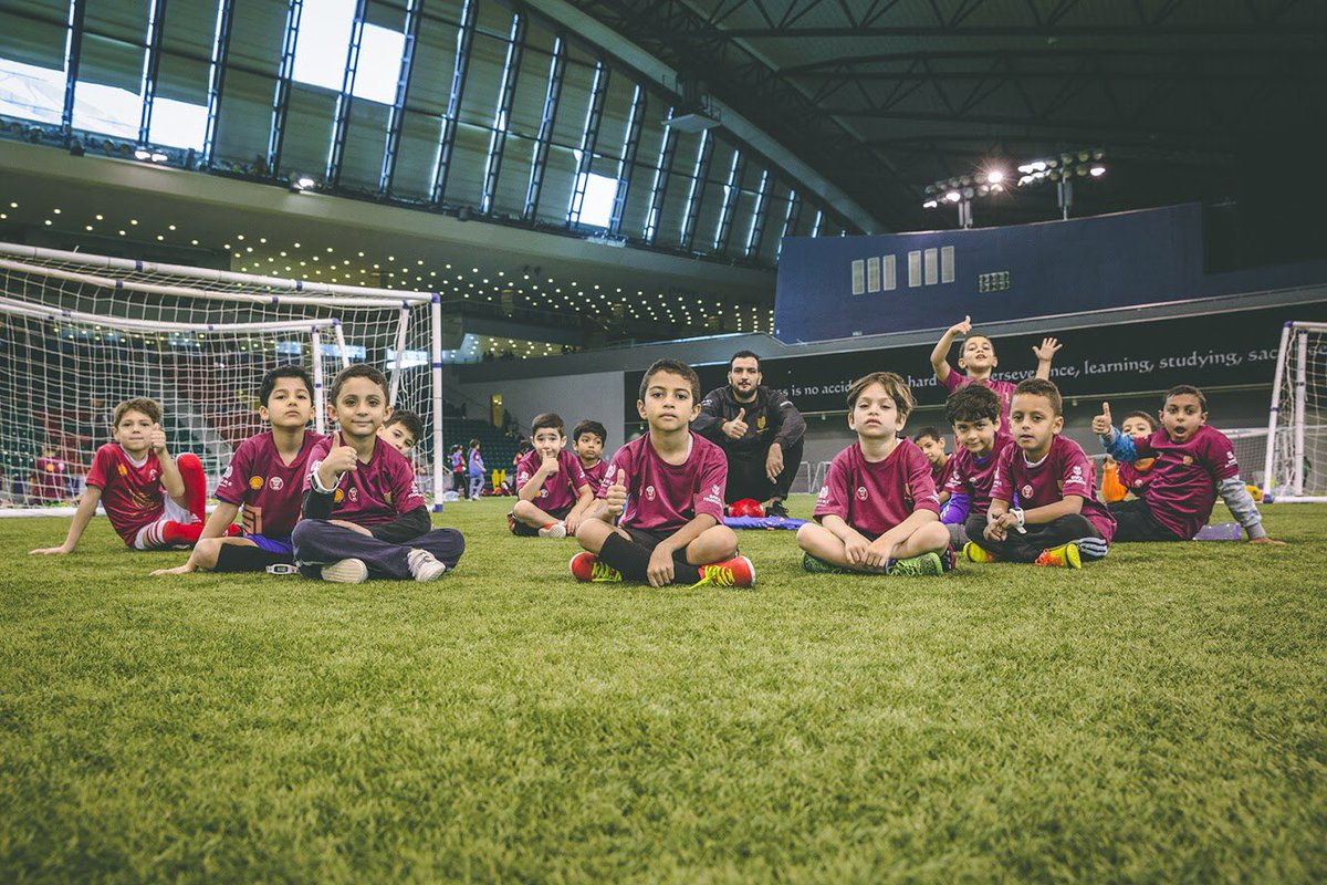 Make sure to join in the last Koora Time training before the break next week. Join us at Aspire Dome today & tomorrow from 8-10am or 3-5pm. #kooratime #playmorefootball #sports #healthy #schoolbreak #healthyliving #football #doha #qatar