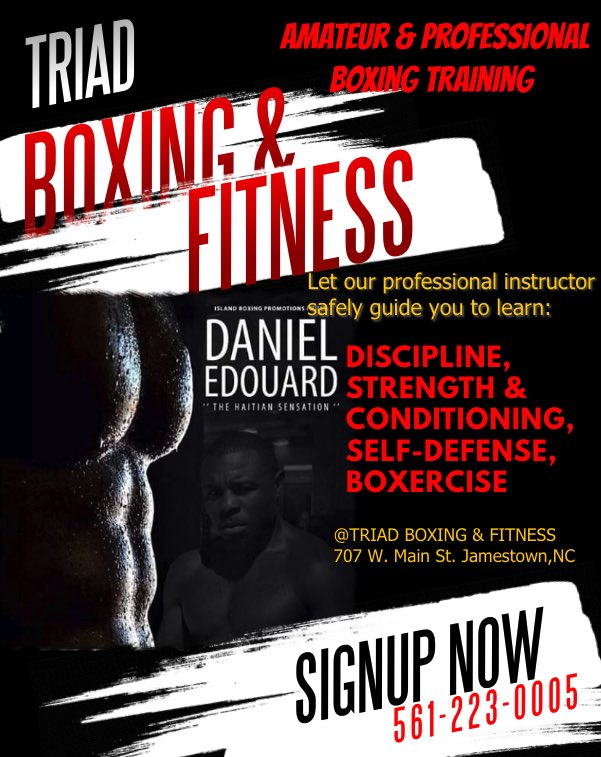 #JamestownNC #BoxingTraining Now In Your Area ..... https://t.co/uKBcGj0zyW