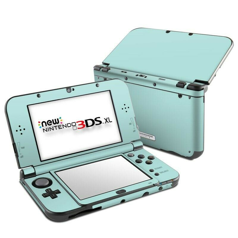 Check out this cool decal for your 3DS! DecalGirl N3D5X-SS-MNT Skin For Nintendo New 3DS XL 2015 - Solid State Mint #Sales #Deals #bargains #Nintendo #NintendoPower #3DS #3dsmax #treatyourself #treatyoself #buyitnow #ebayfinds #eBay #gifts #giftideas