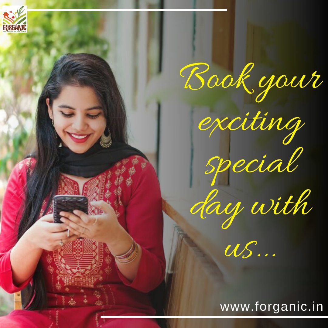 Ladies, gather your mom, granny, daughter, sister or girl gang and come to Forganic Farm for celebrating the most exciting fun getaway on #internationalwomensday https://t.co/nHkCBmHv2G . . . #internationalwomensday #womansday #womensday #womenpower #woman https://t.co/2nu0NV5cOb
