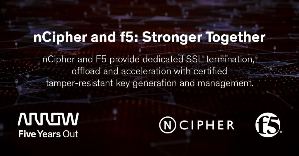 Together, @nCipherSecurity and @F5Networks deliver network and application analytics provide visibility and control http://arw.li/6013193Pl   #ncipher #iot #internetofthings #cloudsecurity #cloudpic.twitter.com/zqlXY1QVBJ
