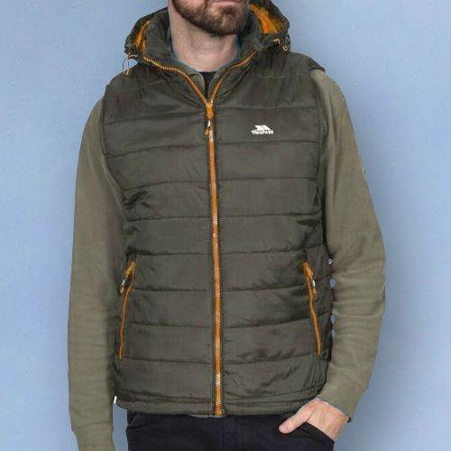 Trespass Mens Norman Ultra-Lightweight Full Zip Jacket