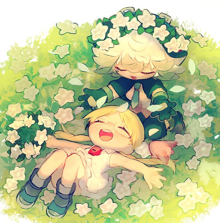 不屈の花と