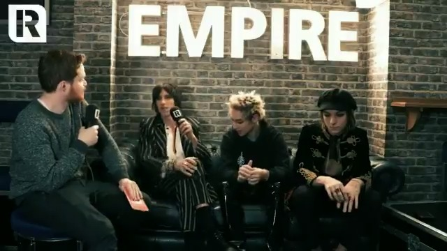 Palaye Royale tell us about their biggest musical inspirations, including My Chemical Romance, in this clip from our chat last year