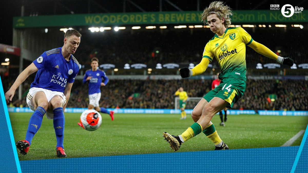 'Every time Cantwell gets the ball, the tempo lifts' - @schwarzer_mark 42' - 🟡 Norwich 0-0 Leicester 🦊Listen 👇📲: http://bbc.in/2wQL9SH#bbcfootball