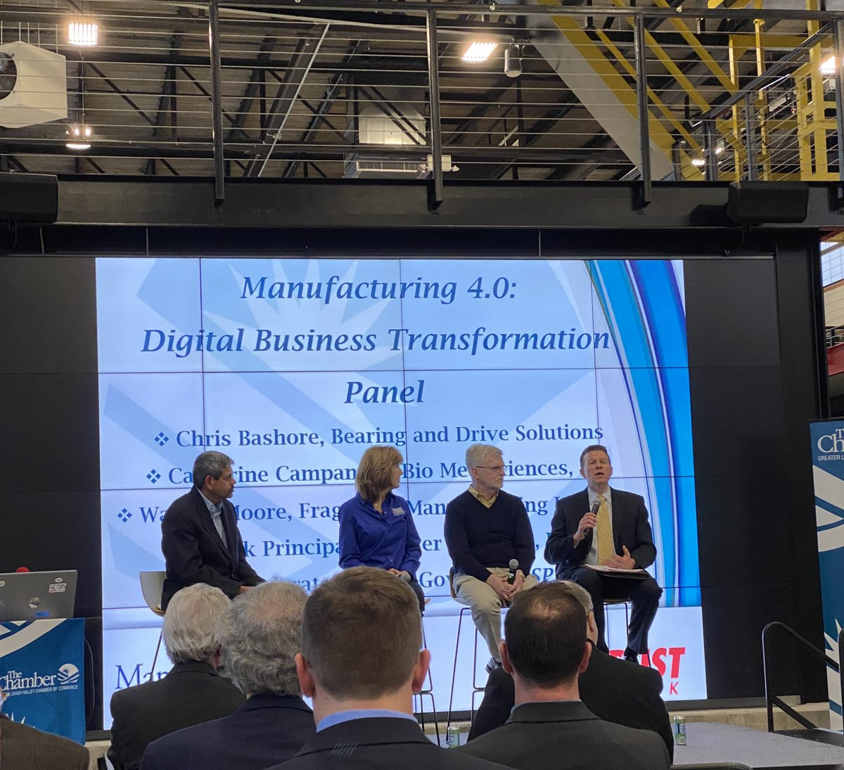 Trifecta attended the Winter 2020 Manufacturing Summit.  Great time talking with regional manufacturing leaders about their Digital Transformation journey. Ask us how we can help your organization to realize the full potential of digital transformation!  #DigitalTransformation https://t.co/FwP7GOD7Ok