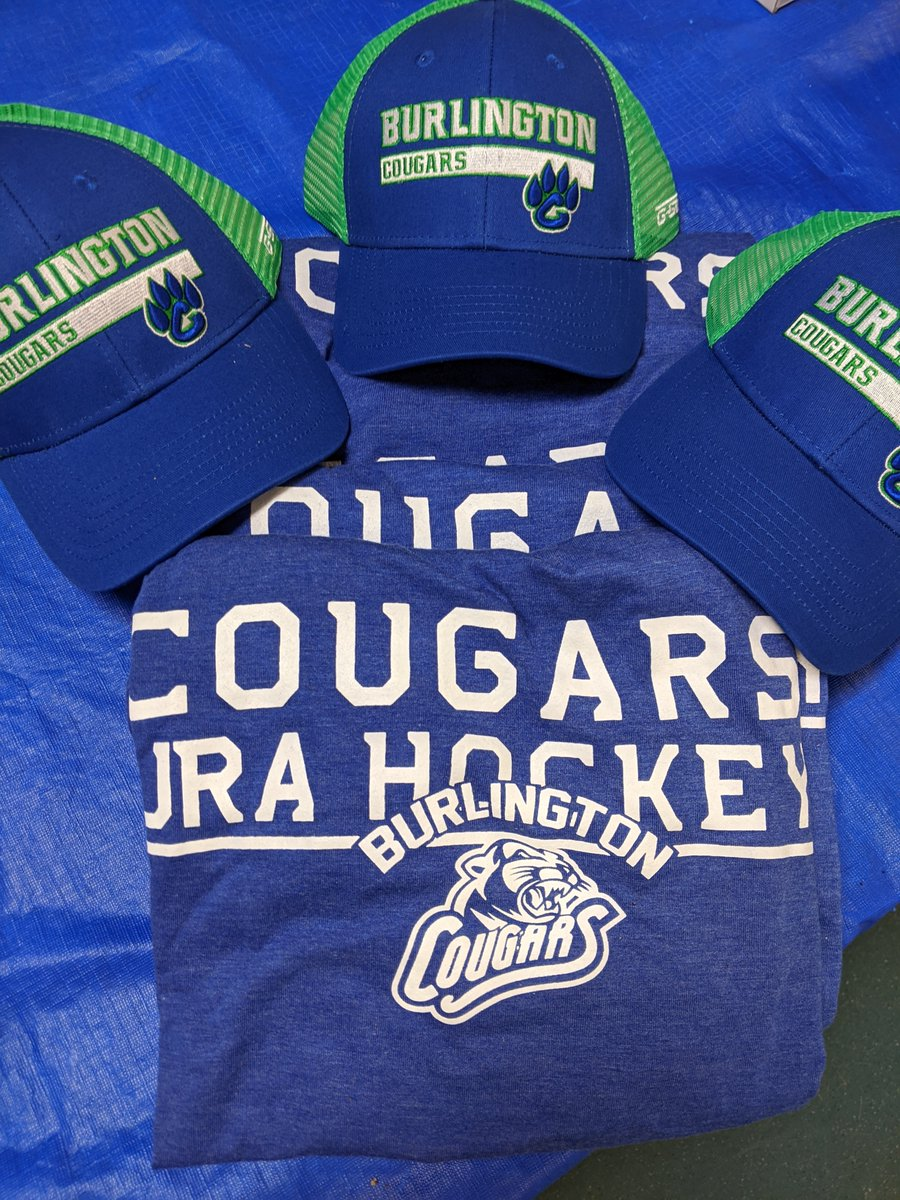 🚨 MERCH BLOWOUT 🚨  Haven't gotten your Cougs playoff swag yet? It's not too late! We're having a late season sale:  🧢 HATS: $20 each 👕 T-SHIRTS $20 each  #OJHL #HuntingSeason #Swag #BurlON