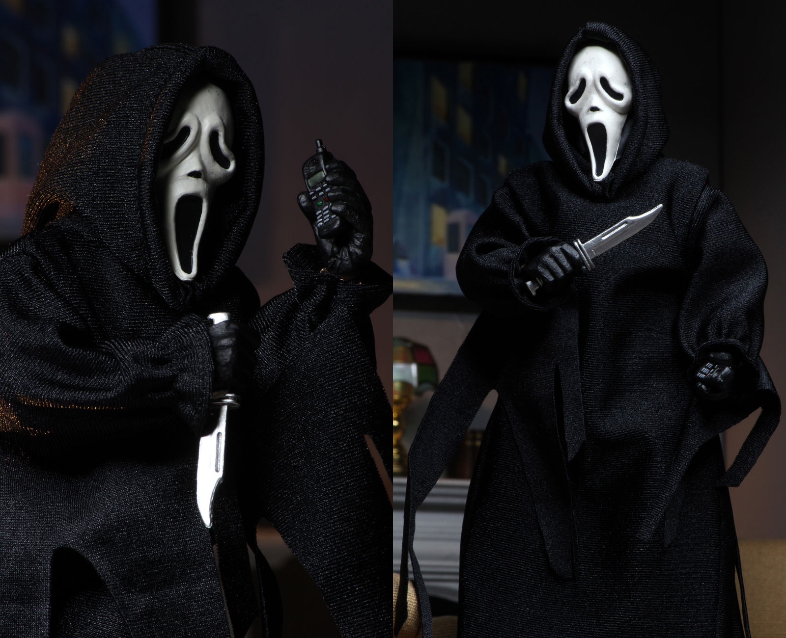 Broke Horror Fan On Twitter I Love That Neca Toys S Ghostface Figure Comes With Phone Voice Changer Accessories Https T Co Pccifw8tik Coming In July Https T Co 684c2cspfg