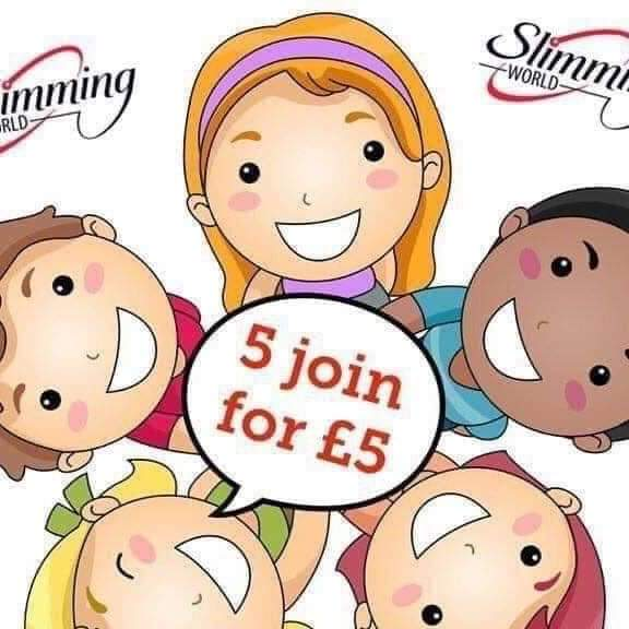 Looking to lose weight why not do it with friends 5 join for only £5 pound each find out more @helensw4 @SlimmingWorld #feelingreat #healthylifestyle #newyou #FridayFeeling #FriendshipGoals #friendspic.twitter.com/QkswnyqIMK