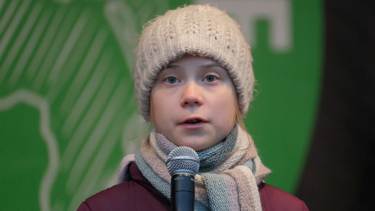 Oil and gas goons use sexual abuse image to mock teen activist Greta Thunberg