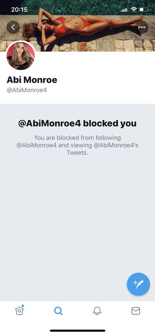 This profile isn't me guys and whoever it is has blocked me #weirdo https://t.co/K1ubpQwafq