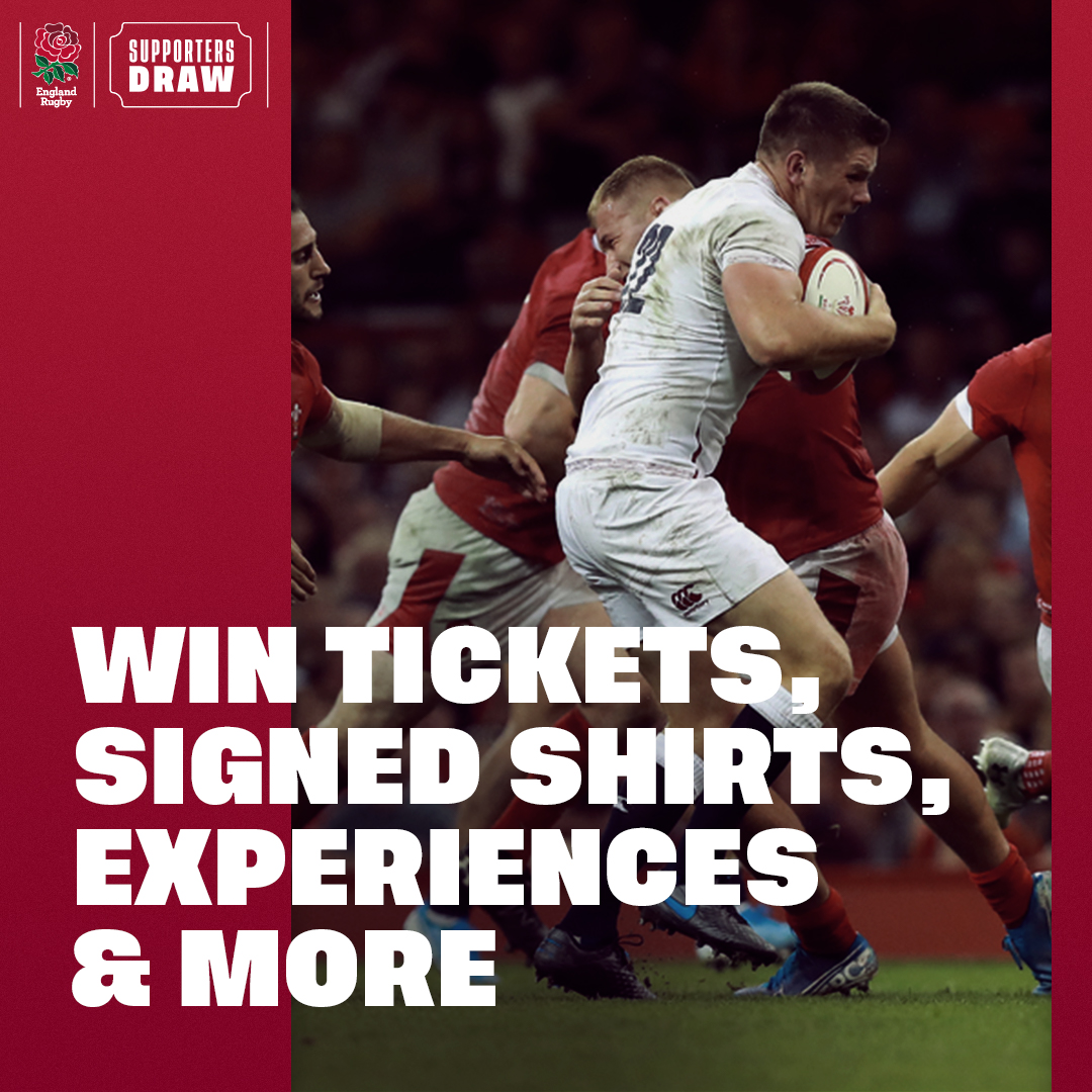 test Twitter Media - The England Rugby Supporters Draw returns 🙌  Sign up now to support @TheRugbyCharity and win money can't buy rugby prizes 👇  🌐 https://t.co/ejLM2fSv6d https://t.co/1pSbwHGvGc