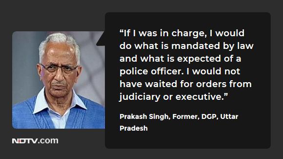 #DelhiViolence | Prakash Singh, Former, DGP, Uttar Pradesh on #TheBigFight