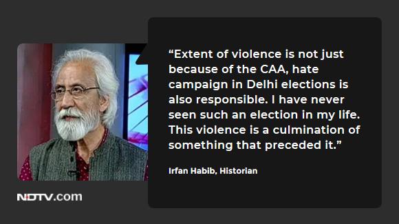 #DelhiViolence | Historian Irfan Habib on #TheBigFight