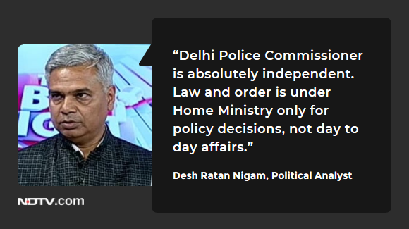 #DelhiViolence | Desh Ratan Nigam, RSS Supporter and Political Analyst on #TheBigFight