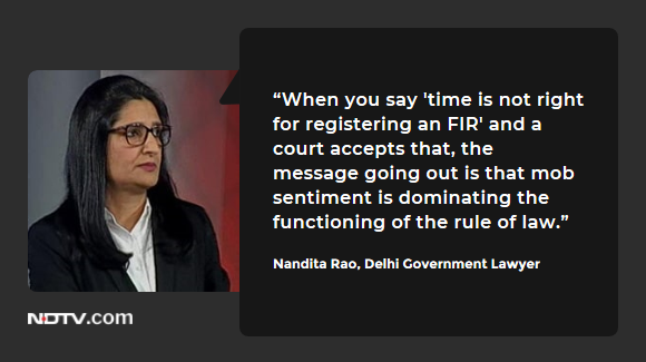 #DelhiViolence | Nandita Rao, Delhi Government Lawyer on #TheBigFight