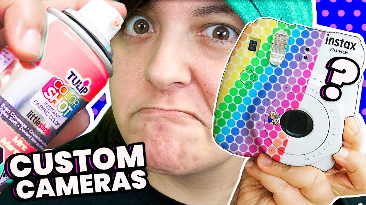 Custom cameras and giveaways! Watch the video here: