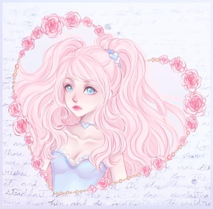 Valentine's Day Girls🌸💕 #art #anime #ValentineswithNobody #ValentinesDay2020 #commission #Valentines2020 #ych https://t.co/8DIyQr8ntW