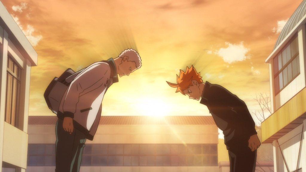 TVアニメ『ハイキュー!! TO THE TOP』第8話「チャレンジャー」をご覧頂きありがとうございました!次回第9話「それぞれの夜」も宜しくお願い致します!!ついに舞台は東京、春高本番へ!!#ハイキュー #hq_anime