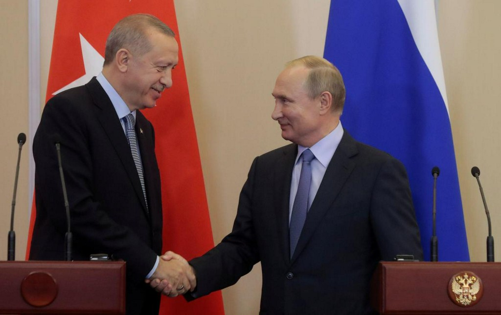 Putin, Erdogan agree new measures needed to ease Syria tensions: Kremlin https://reut.rs/3ahPjBh