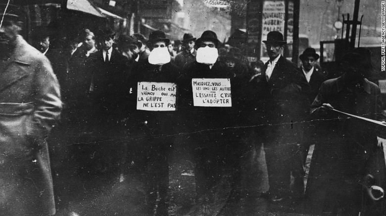 The 1918 flu pandemic shows why it's so critical for officials to tell the truth about coronavirus https://cnn.it/2VwuAG4