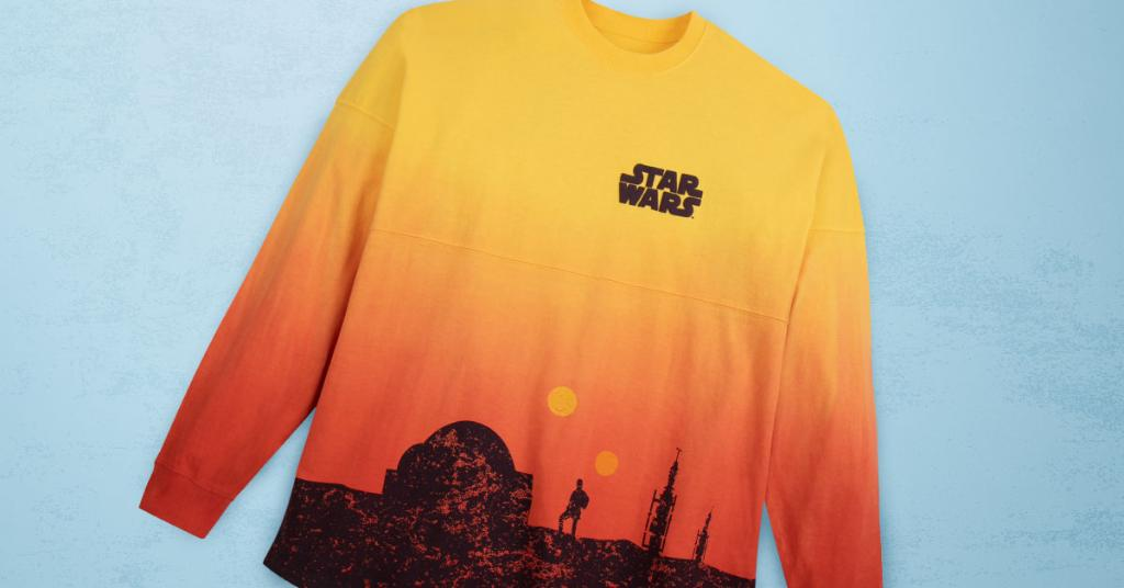 A Spirit Jersey featuring the planet Tatooine from Star Wars