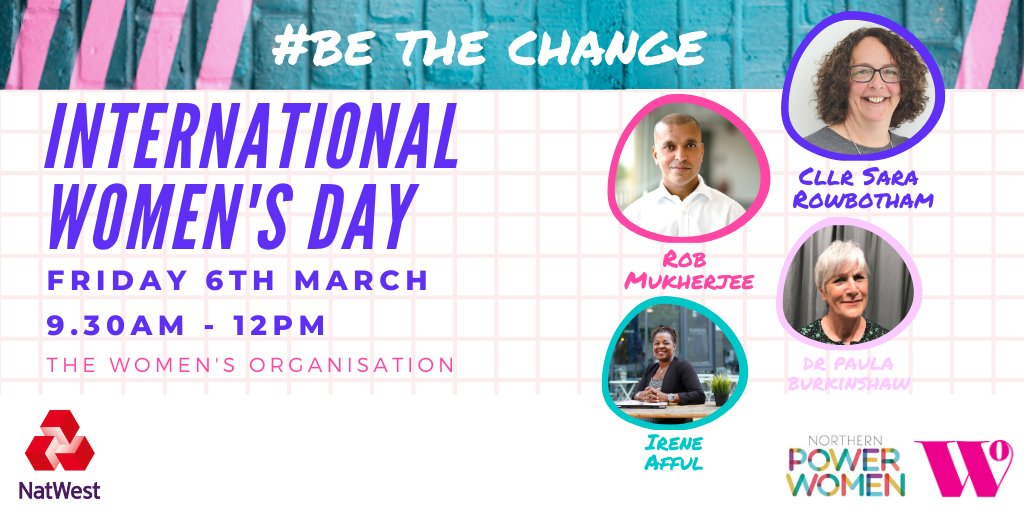 🚨 FINAL TICKETS RELEASED 🚨 Weve just released the final tickets for our International Womens Day #BeTheChange event. Get yours fast to hear from our panel of change-makers! ⏱️ Friday 6th March, 9.30am-12pm at @54StJamesStreet FREE TICKETS 👉 eventbrite.co.uk/e/internationa…
