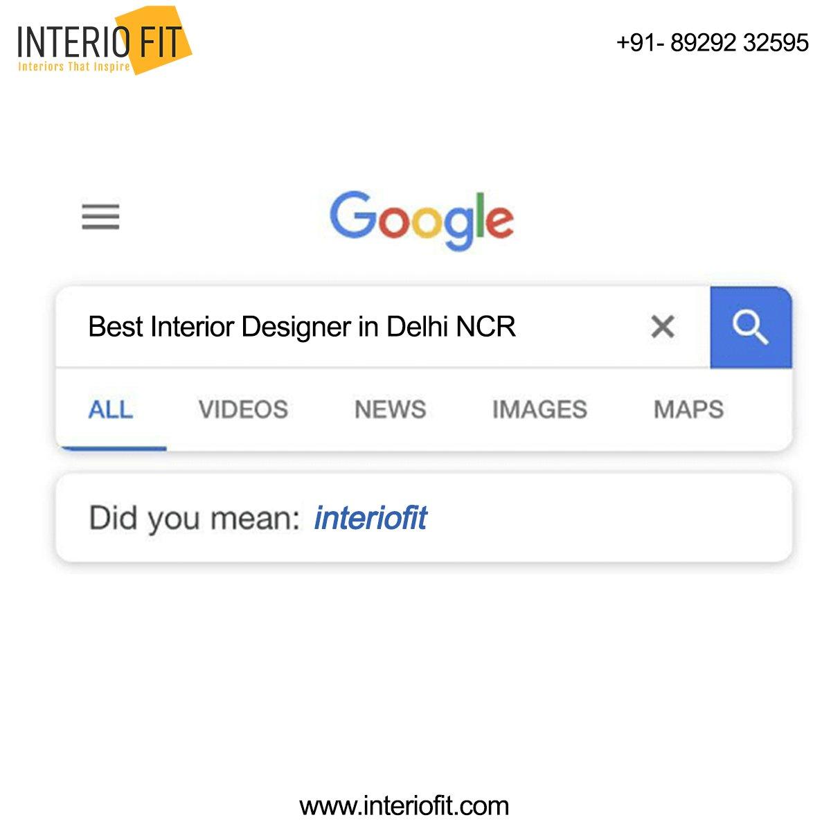 Kabhi kabhi lagta hai Google ich hi bhagwan hai! #didyoumean #google #googleknowseverything #googleknows #bestinterior #interiofit #delhincr #interiors #interiordesigner #interiors #home #office #corporate #homedecor #commercial #noida #gurgaonpic.twitter.com/FJ2foCWrkD