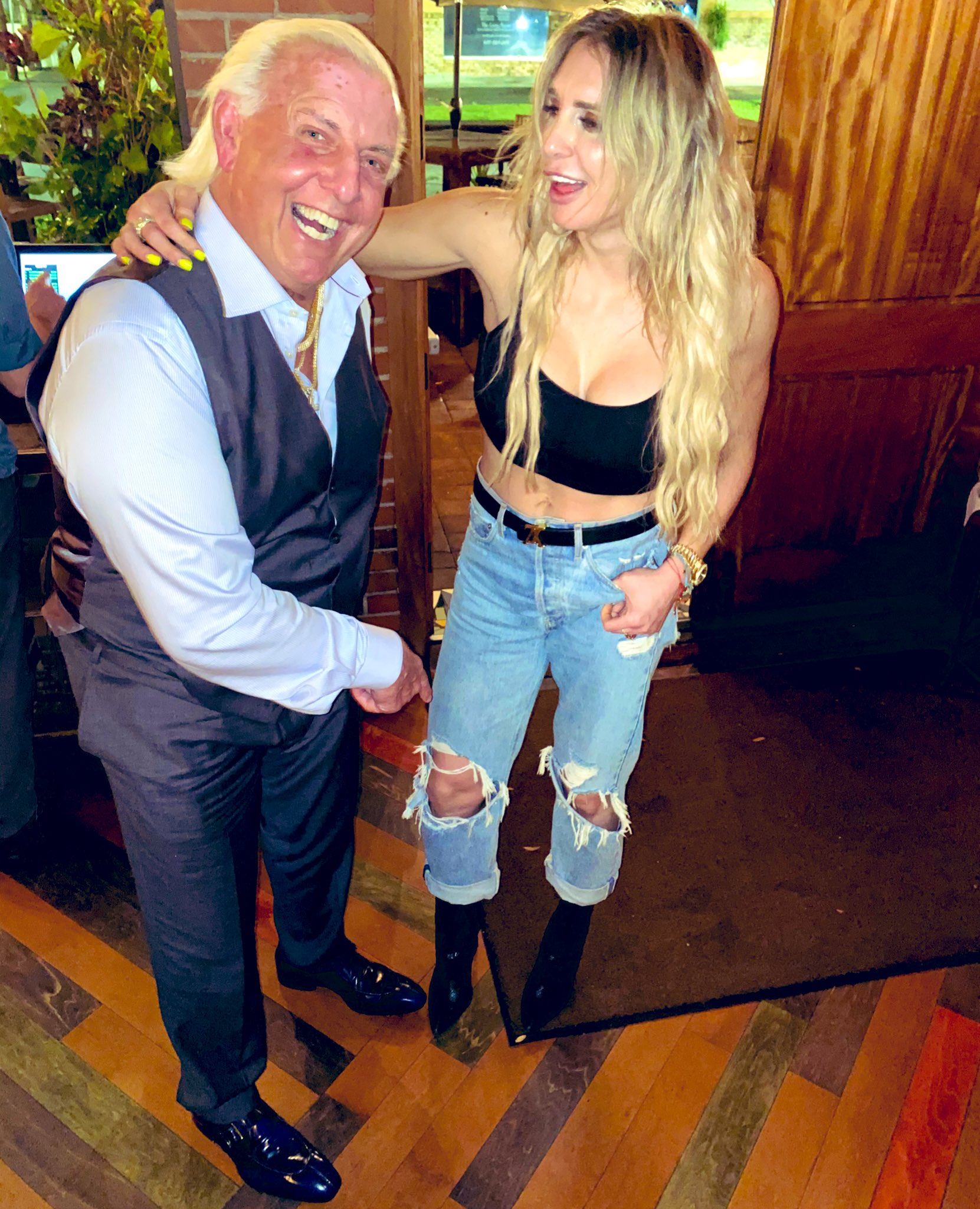 Wwe who dating is charlotte Every Current