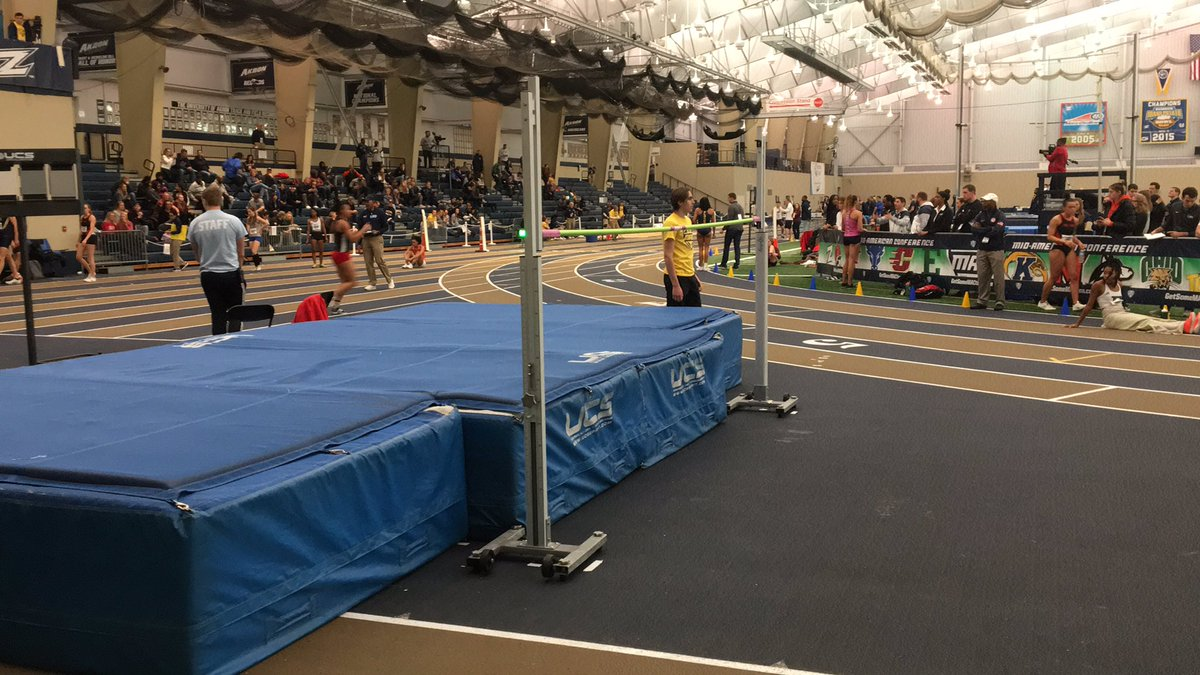 Next up for the Pentathletes is the High Jump. pic.twitter.com/701arATJTw
