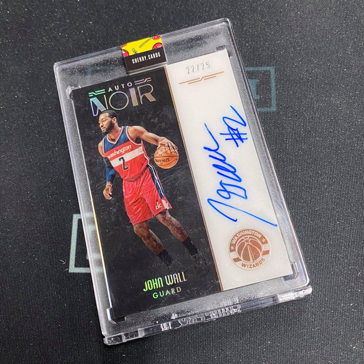 John Wall /25 #sportscards #whodoyoucollect #thehobby #johnwall #paniniamerica #groupbreaks #washingtonwizards #lebron #rookiecards #kobe #autograph #casebreaks #basketballcards #球星卡 #籃球卡 #sportscardsforsale #hobbystore #cherrycards pic.twitter.com/S7wvFKUYWn