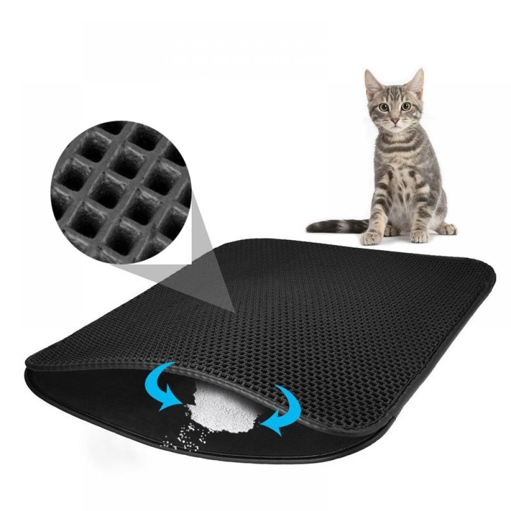 #dog #pets Waterproof Pet's Litter Mat