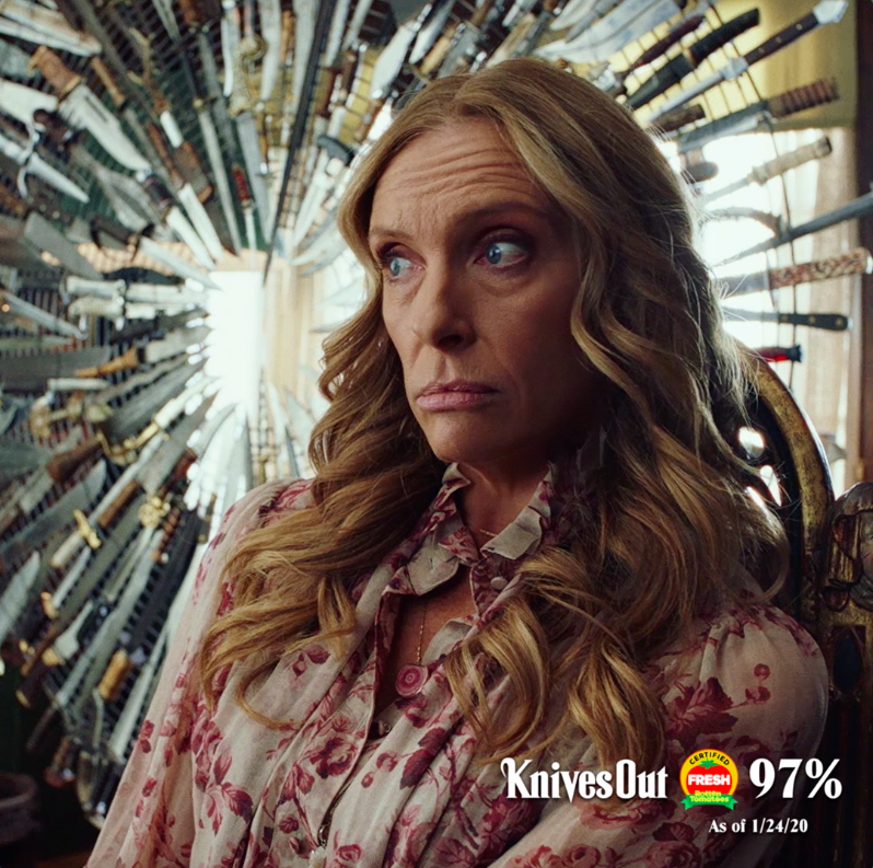 It's a killer good time. #KnivesOut now on 4K Ultra HD, Blu-ray & Digital.